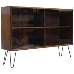 Upcycled Danish Palisander/Glass Cabinet, 1960s