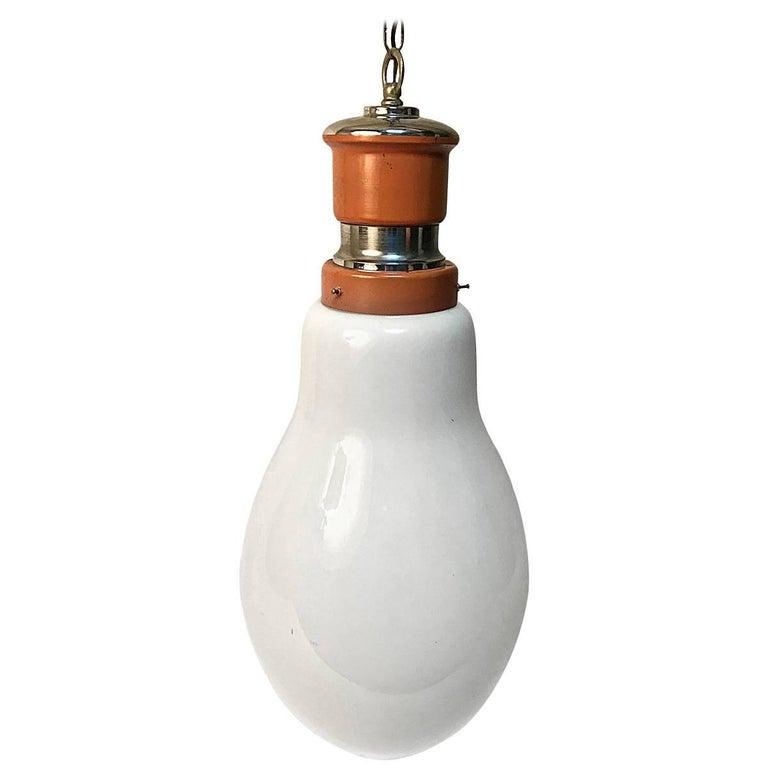 Chandelier by Piero Brombin for Artemide, Italian Ceiling Lamp, 1960s Lighting