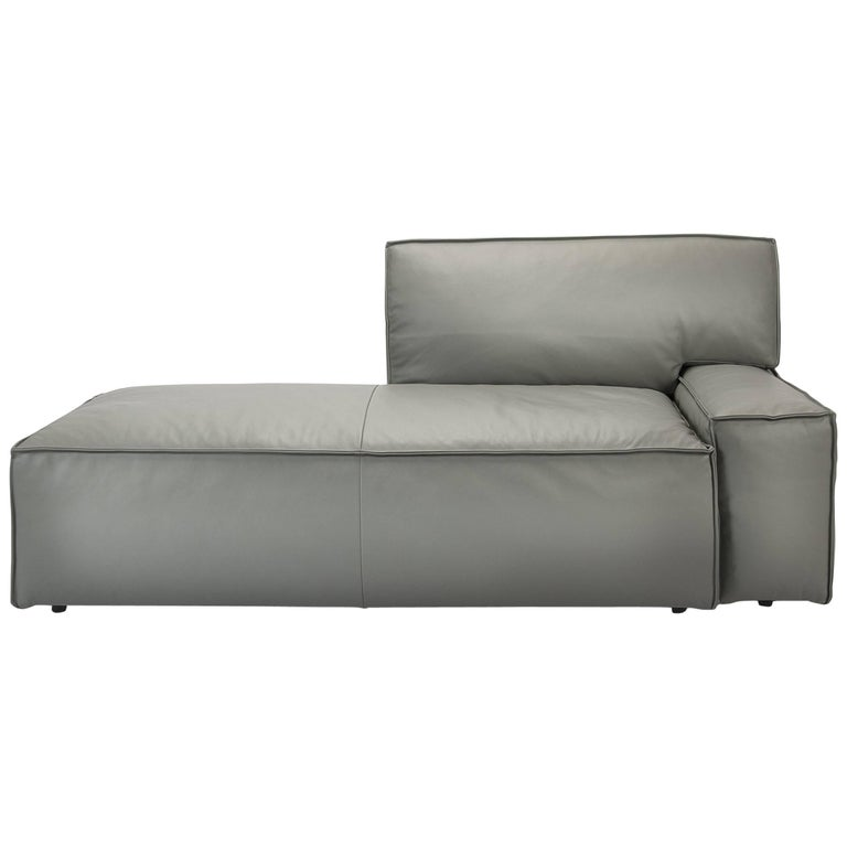 Cassina Leather Easy Chaise