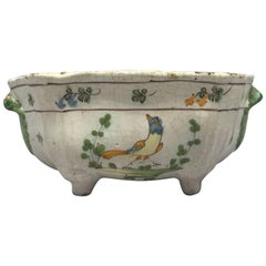 Cerreto Majolica Shaped Bird Bowl