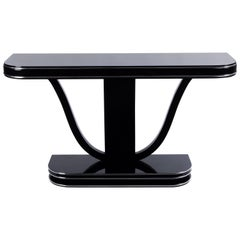 Superb French Art Deco Style Console