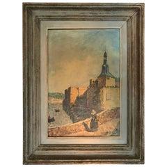 """Vintage French Painting """"Ecole de Pont Aven"""""""