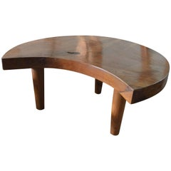 Andrianna Shamaris Mid century Style Organic Teak Wood Coffee Table