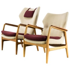 1960s Aksel Bender Madsen Fauteuils for Bovenkamp Set of Two