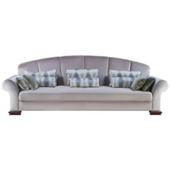Large Art Deco Sofa by Rinck