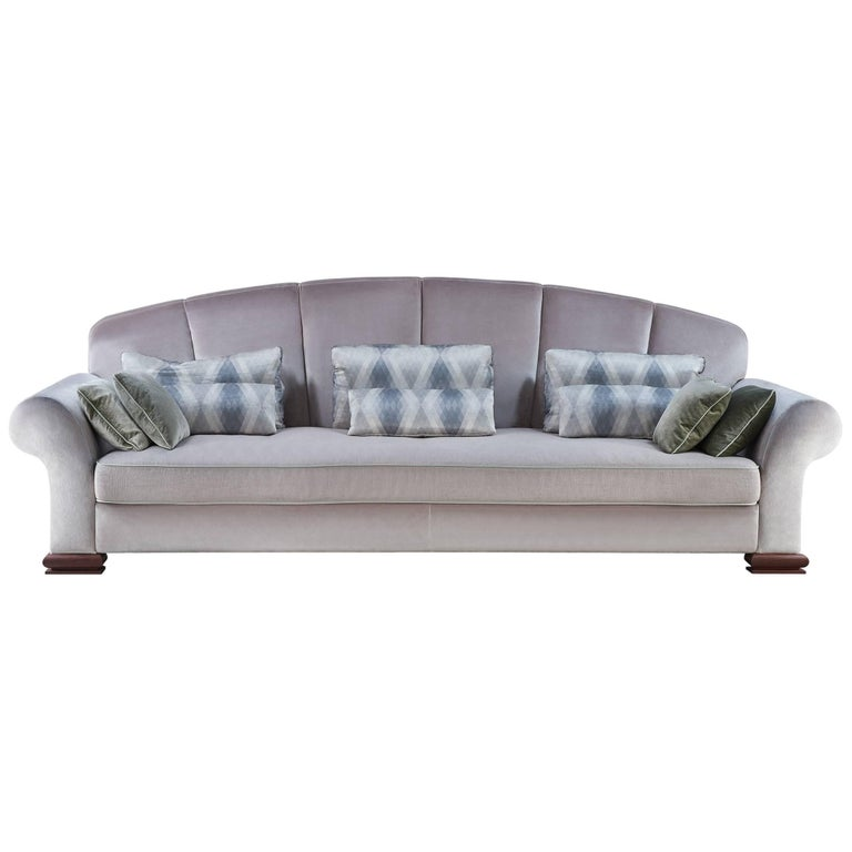 marshmallow sofa by george nelson 1958 at 1stdibs. Black Bedroom Furniture Sets. Home Design Ideas