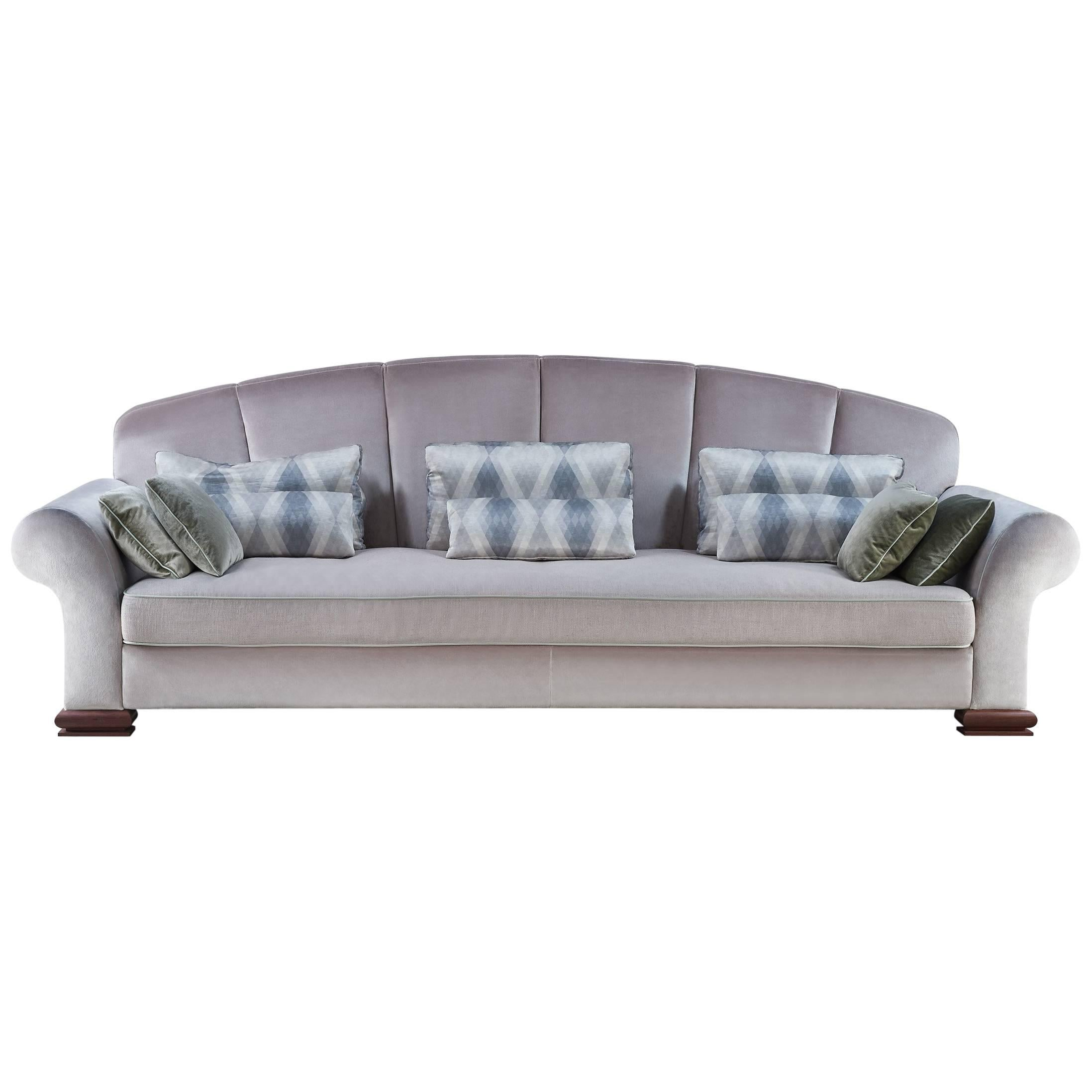Large Art Deco Sofa By Rinck