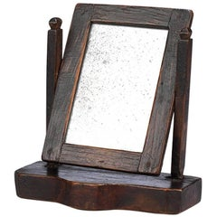 Exceptional Primitive Miniature Toilet Mirror