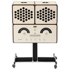Brionvega RR126 Radiofonografo Record Player RR126 Vintage by the Castiglioni