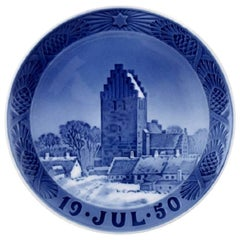 Royal Copenhagen Christmas Plate 1950