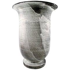 Very Large Kähler, Hak, Glazed Earthenware Vase, 1930s, by Svend Hammershoi