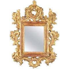 Roccoco Carved Wood Frame, 18th Century