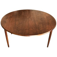 Kurt Ostervig Dining Table with Two Leaves