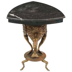 "Mark Brazier-Jones 1997, ""Marnie"" Tripod Table with Mermaids"