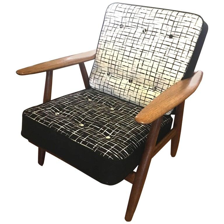 Cigar Chair Model GE240 by Hans J Wegner for Gemata