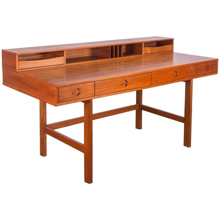Peter Løvig Nielsen Flip-Top Teak Desk