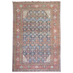 Antique Persian Mahal Rug
