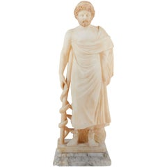 19th Century Italian Alabaster Figure