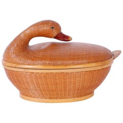 Wicker Duck Box