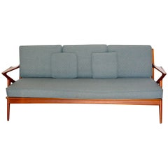 Danish Mid-Century Modern Poul Jensen for Selig 'Z' Teak Sofa