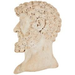 19th Century Italian Marble Relief