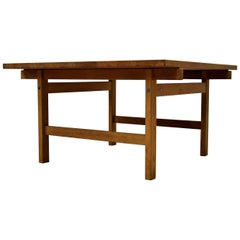 Hans Wegner Mid century Modern Oak Club Table