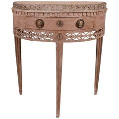 Dutch Demi Lune Console Table