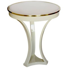 Lacquered Tripod Base Guéridon/Occasional Table/Pedestal by André Arbus