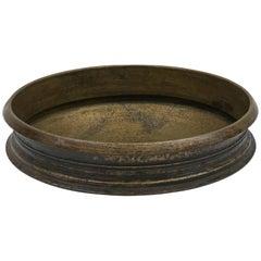 """Large Bronze Ceremonial """"Urli"""" Bowl, India, circa 1920"""