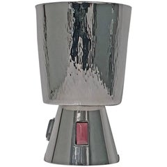 1970s Sterling Silver and Agate Goblet