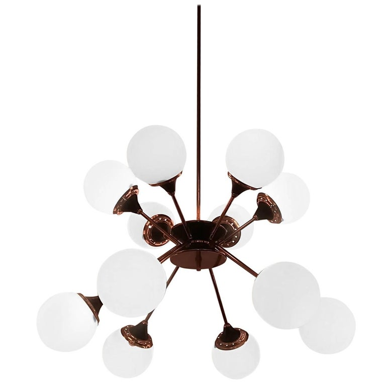 Stilnovo Twelve Lights Chandelier