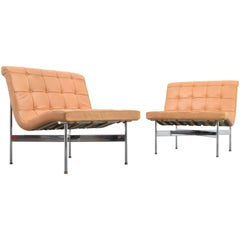 "William Katavolos, Ross Littell & Douglas Kelley ""New York"" Lounge Chairs"