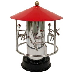 Kinetic Carousel Toy Sculpture