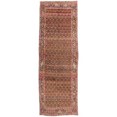 Vintage Persian Khotan Rug with Modern Style, Hot Pink Persian Rug