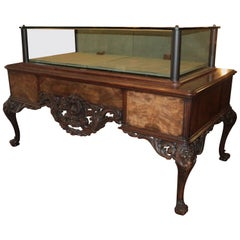 Buccellati Designer 19th Century Showcase Table, Vitrin