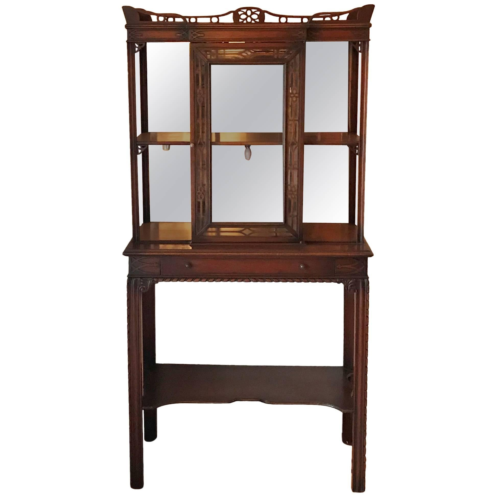 Small Scale Display Cabinet Center Cabinet and Lower Shelf circa 1920  sc 1 st  1stDibs & Small Display Cabinets - 124 For Sale on 1stdibs