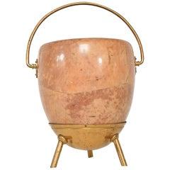 Mid-Century Modern Aldo Tura Bucket Basket