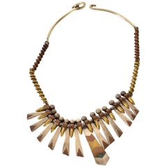 Midcentury Mexican Modernist Reversible Necklace
