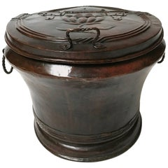 18th Century Italian Copper Jar