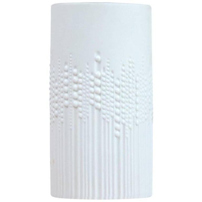 Porcelain Pearl Drops Vase by Tapio Wirkkala for Rosenthal, Germany For Sale