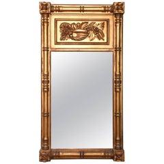 Boston Federal Gilt Gesso Mirror