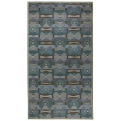 Swedish Design Flat-Weave Rug