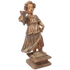18th Century Continental Wood Carving