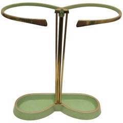 Vintage Green Austrian Umbrella Stand