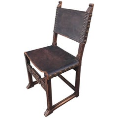 Spanish Revival Side Chair, 1920s