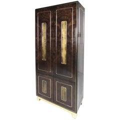 Stunning Vintage Modern Armoire Dresser by Bernhard Rohne