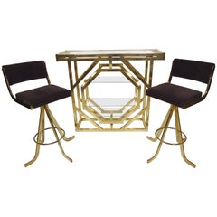 Midcentury Romeo Rega Bar Set