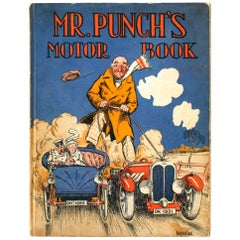 Mr. Punch's Motor Book, First Edition
