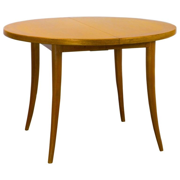 T.H. Robsjohn Gibbings Saber Leg Dining Table
