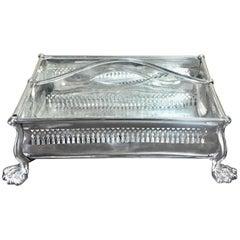 Rare Sheffield Plate Cutlery Box